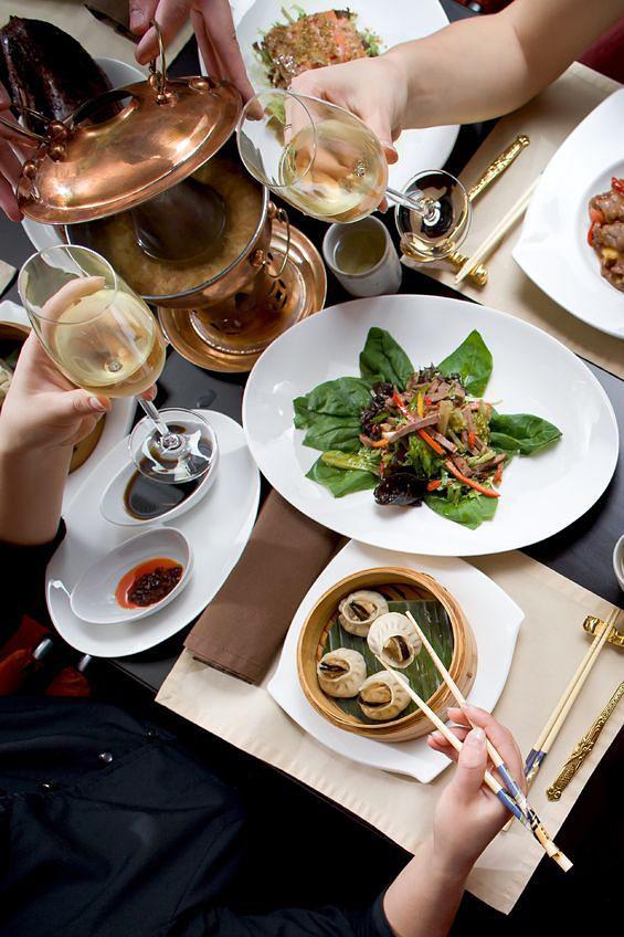洗練された高級感のある中華スタイルは、特に女性に人気。