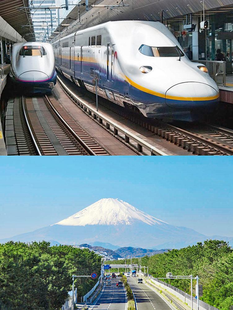 例年のGWならば100%以上の乗車率となる新幹線、渋滞覚悟の高速道路も、コロナ自粛で驚くほど空いている。