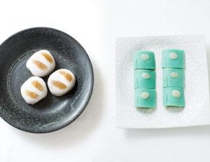 菓子匠・末富の山口氏による、和歌と和菓子の見事なハーモニー。
