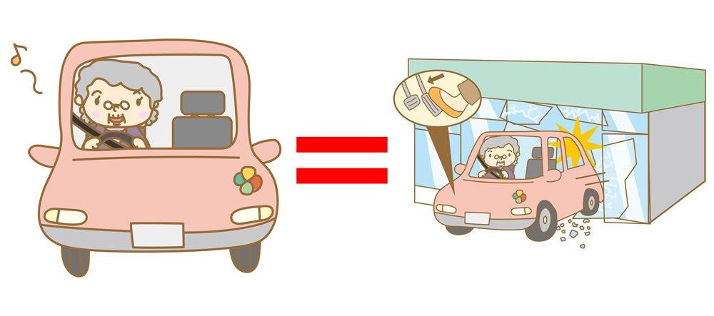 「高齢ドライバー」 = 「運転操作ミスによる重大事故」というイメージを定着させるような報道が目立つ。