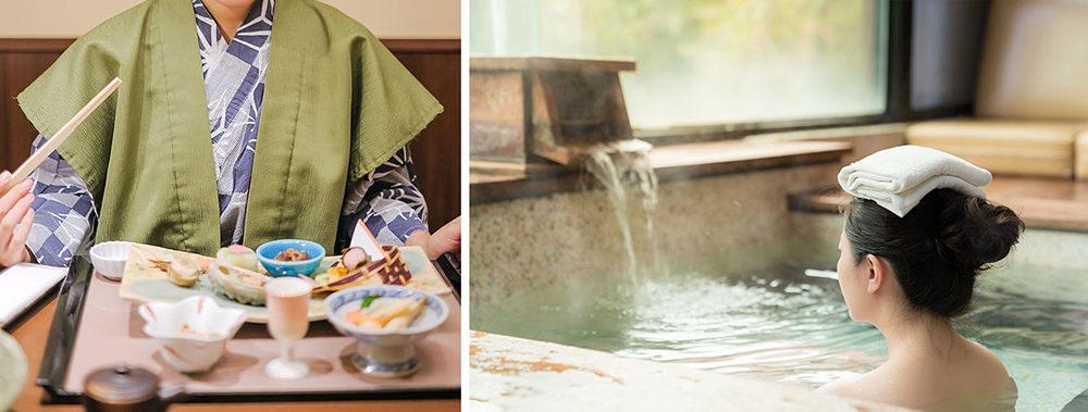 温泉や、豪華な食事も、新しい生活習慣の中で。ツアー会社では「一人旅」を推奨する動きも。