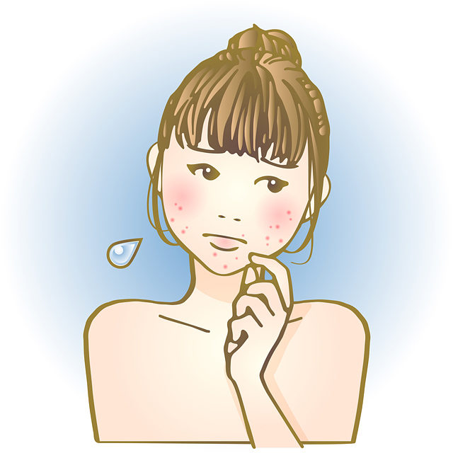 マスクにより、治りかけていた敏感肌の症状が悪化してしまう患者さんも多い。